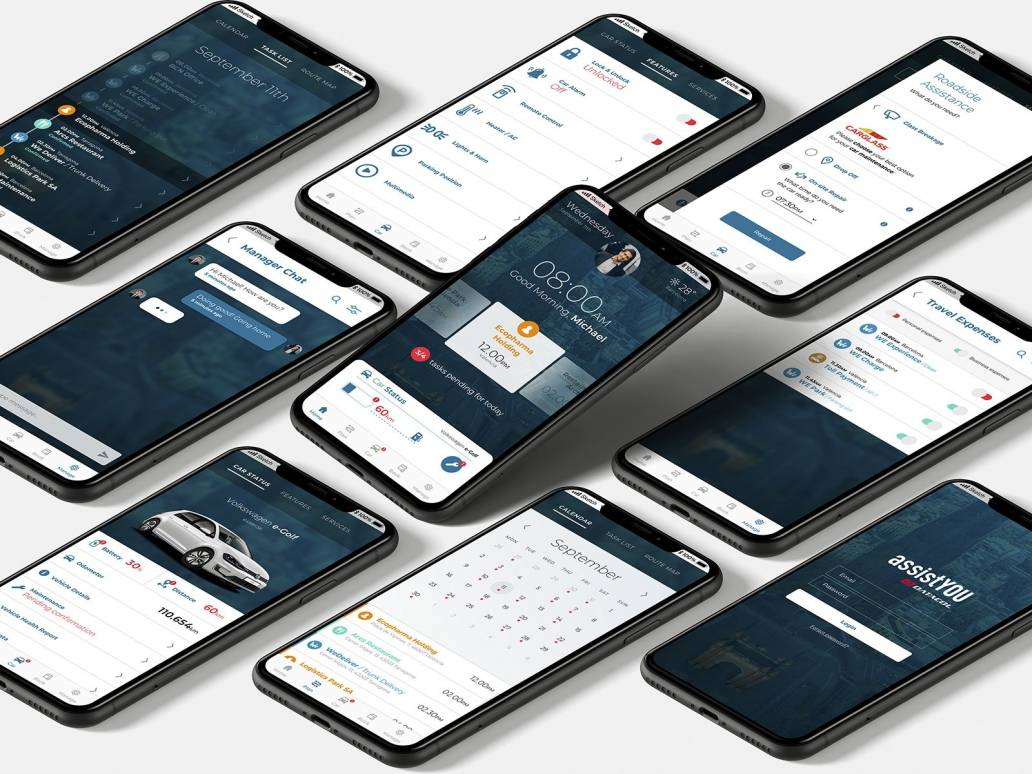 AssistYou mobile app