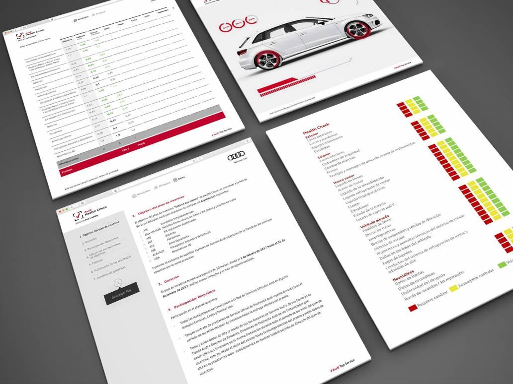 Audi Health Check web