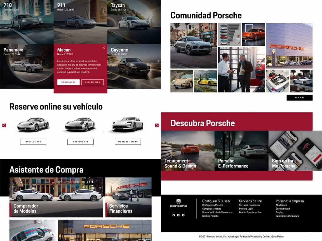 Porsche Web