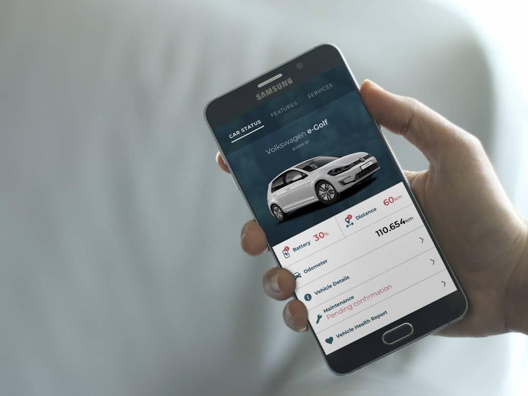 AssistYou mobile car status